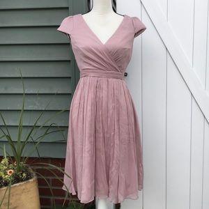 NWT J. Crew Mirabelle Silk Chiffon Dress Size 2